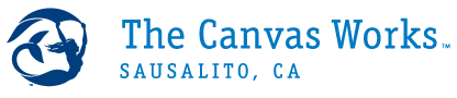 The Canvas Works, Sausalito, San Francisco Logo