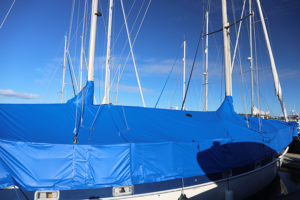 Blue Sailboat Cover cutouts